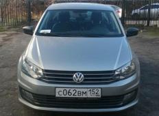 Аренда Volkswagen Polo 2019 в Нижнем Новгороде