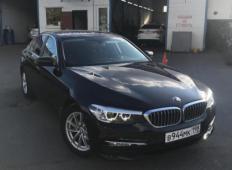 Аренда BMW 5er 2019 в Санкт-Петербурге