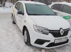Аренда Renault Logan 2020 в Омске
