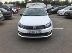 Аренда Volkswagen Polo 2019 в Казани