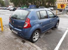 Аренда Renault Sandero 2014 в Екатеринбурге