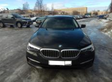 Аренда BMW 5er 2018 в Санкт-Петербурге
