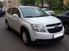 Аренда Chevrolet Orlando 2014 в Санкт-Петербурге