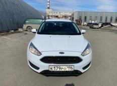 Аренда Ford Focus 2019 в Екатеринбурге
