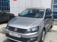 Аренда Volkswagen Polo 2019 в Новом Уренгое
