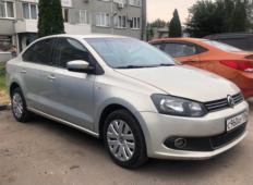 Аренда Volkswagen Polo 2014 в Воронеже