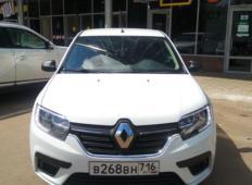 Аренда Renault Logan 2020 в Нижнекамске