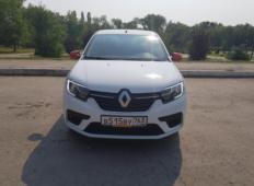 Аренда Renault Logan 2019 в Самаре