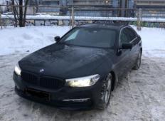 Аренда BMW 5er 2017 в Санкт-Петербурге