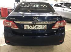 Аренда Toyota Corolla 2014 в Нижневартовске
