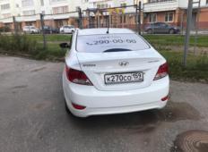 Аренда Hyundai Solaris 2014 в Перми