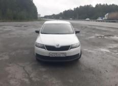 Аренда Skoda Rapid 2018 в Челябинске