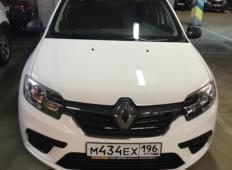 Аренда Renault Logan 2019 в Екатеринбурге