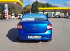Аренда Renault Logan 2016 в Самаре