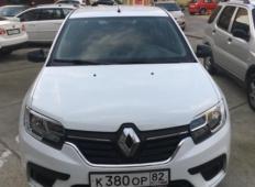 Аренда Renault Logan 2019 в Адлере