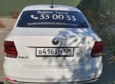 Аренда Volkswagen Polo 2018 в Пятигорске