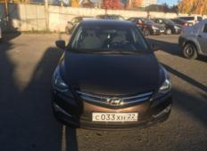 Аренда Hyundai Solaris 2015 в Барнауле