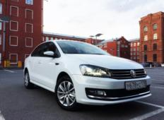 Аренда Volkswagen Polo 2018 в Челябинске