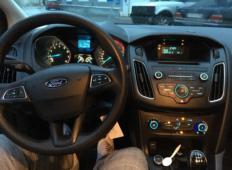 Аренда Ford Focus 2016 в Санкт-Петербурге