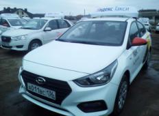 Аренда Hyundai Solaris 2019 в Воронеже