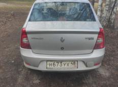 Аренда Renault Logan 2014 в Курске