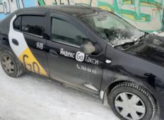 Аренда Renault Logan 2016 в Екатеринбурге