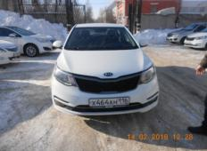 Аренда Kia Rio 2015 в Казани