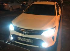Аренда Toyota Camry 2017 в Санкт-Петербурге
