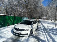 Аренда Skoda Rapid 2019 в Воронеже