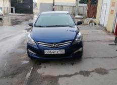 Аренда Hyundai Solaris 2016 в Нижнем Новгороде