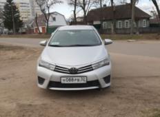 Аренда Toyota Corolla 2013 в Брянске