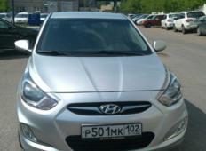 Аренда Hyundai Solaris 2013 в Уфе