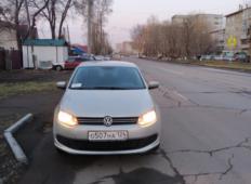 Аренда Volkswagen Polo 2015 в Красноярске