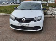 Аренда Renault Logan 2018 в Уфе
