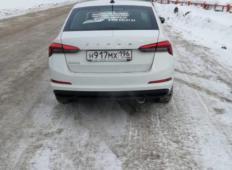 Аренда Skoda Rapid 2021 в Екатеринбурге