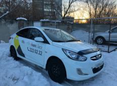 Аренда Hyundai Solaris 2012 в Красноярске
