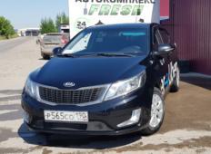 Аренда Kia Rio 2014 в Красноярске