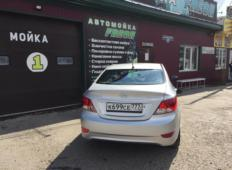 Аренда Hyundai Solaris 2013 в Красноярске