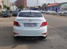Аренда Hyundai Solaris 2016 в Красноярске
