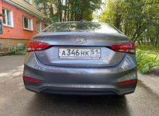 Аренда Hyundai Solaris 2019 в Мурманске