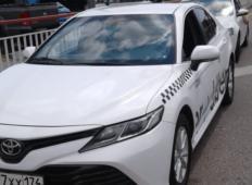Аренда Toyota Camry 2019 в Адлере