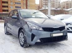 Аренда Kia Rio 2021 в Новосибирске