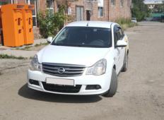 Аренда Nissan Almera 2016 в Иркутске