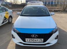 Аренда Hyundai Solaris 2021 в Ярославле