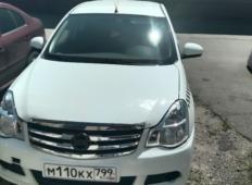 Аренда Nissan Almera 2018 в Краснодаре