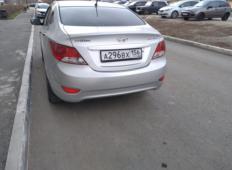 Аренда Hyundai Solaris 2014 в Оренбурге