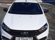 Аренда LADA (ВАЗ) Vesta 2019 в Челябинске