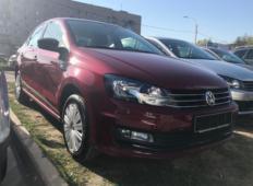 Аренда Volkswagen Polo 2017 в Санкт-Петербурге
