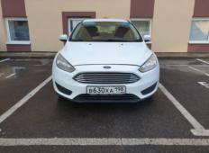 Аренда Ford Focus 2017 в Санкт-Петербурге