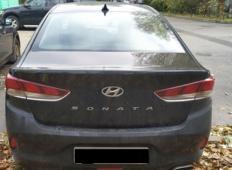Аренда Hyundai Sonata 2017 в Санкт-Петербурге